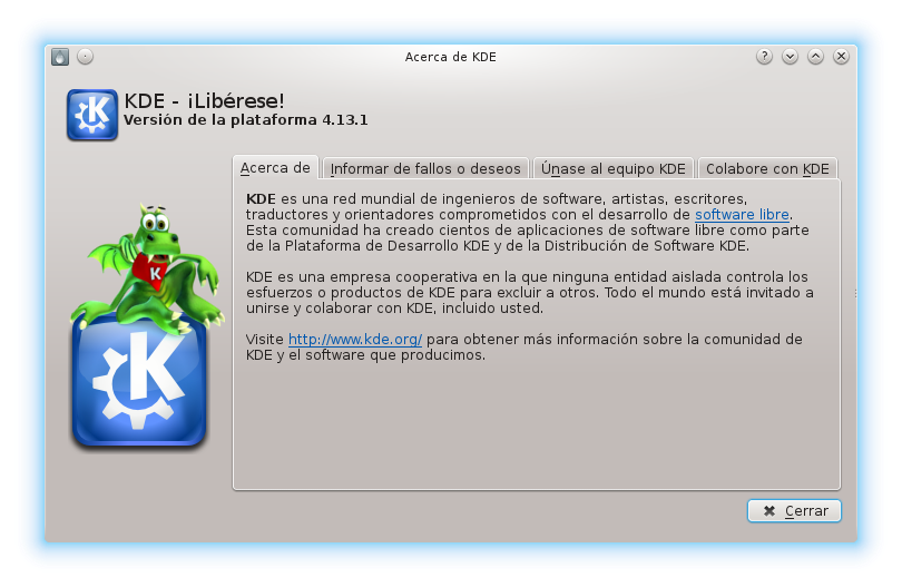 kde-version